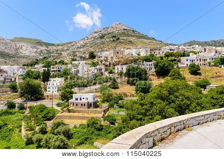 Traditional Greek village