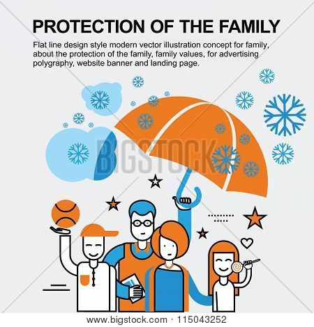 Protection of the family concept