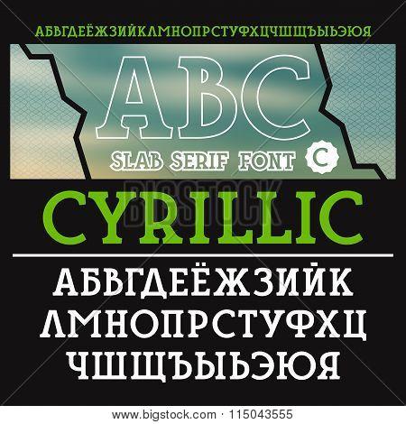 Slab Serif Font