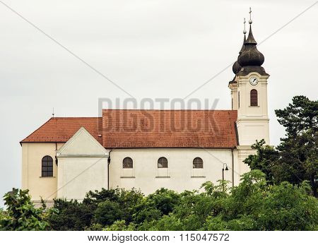 Tihany Abbey Is A Benedictine Monastery Established At Tihany In The Kingdom Of Hungary In 1055