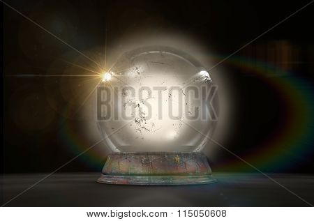 Crystal Ball Glowing