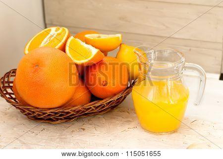 Juice And Oranges