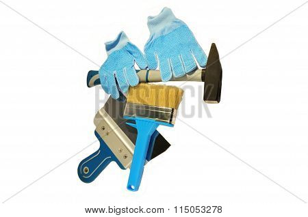 The tools for repairs hammer