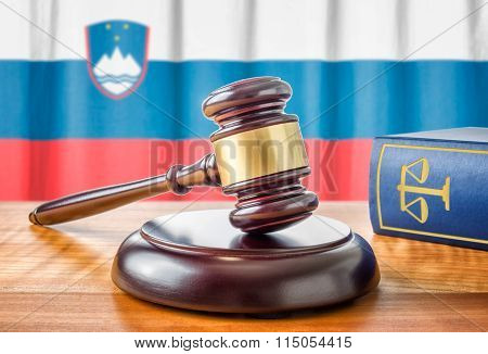A Gavel And A Law Book - Slovenia