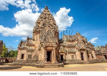 Prasat Hin  Phanom Rung Hindu religious ruin located in Buri Ram Province Thailand
