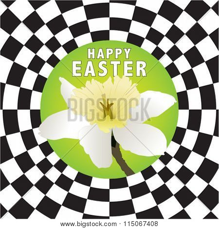 happy Easter vector illustration for publication and printing