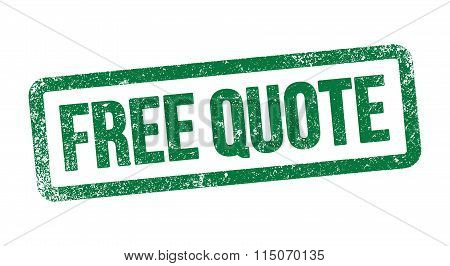 Free Quote stamp