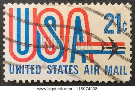 Postal Stamp Usa