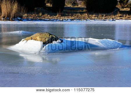 Stone In Ice
