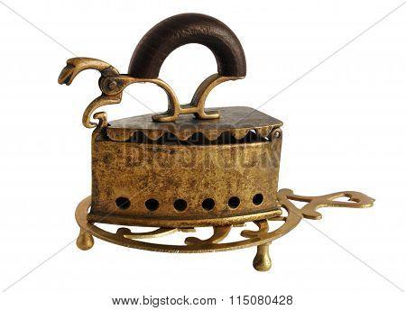 Bronze Charcoal Iron