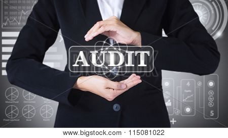 Business women holding posts in AUDIT.