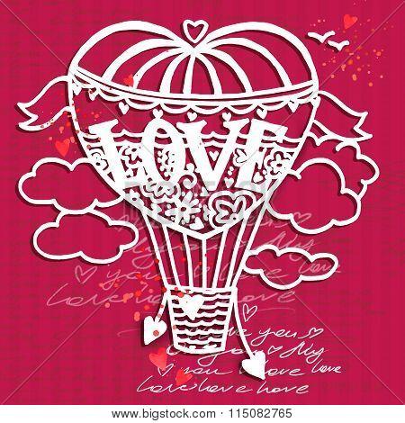 Valentines day card. love you. Valentine day background. Wedding invitation design. Valentines day h
