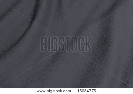 Grey Rippled Fabric