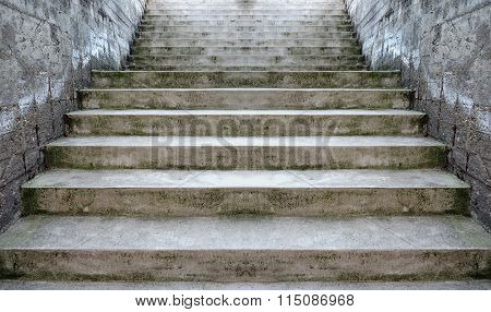 Concrete Stairway Perspective