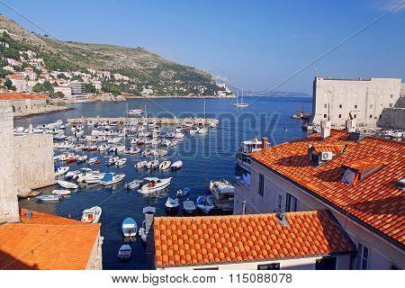Old Town Dubrovnik Harbour