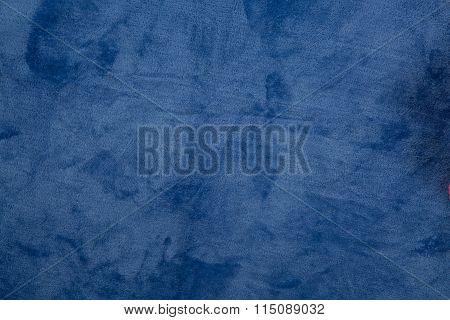 Rich Deep Blue Background Or Blue Paper With Vintage Grunge Texture, Soft Lighting, And Copy Space F