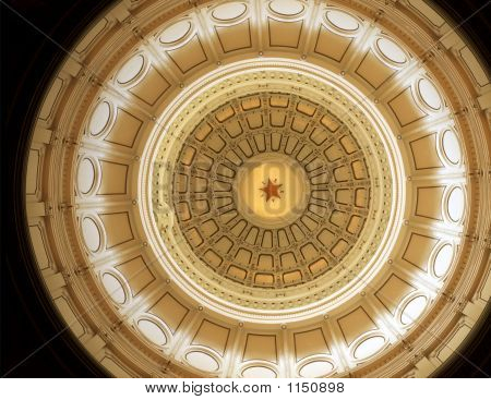 Texas capitol dome (Inside)