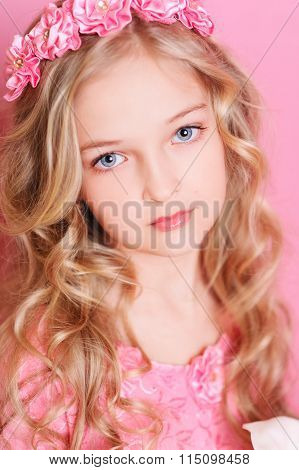 Beautiful kid girl