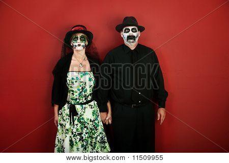 Dia De La Muertos Couple