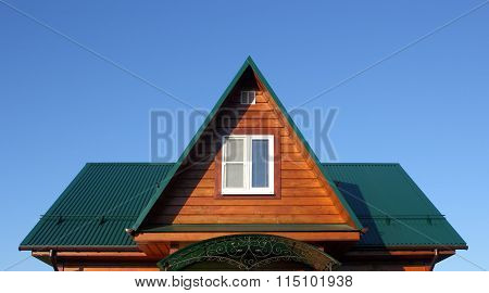 Attic Under The Rgeen Metal Roof