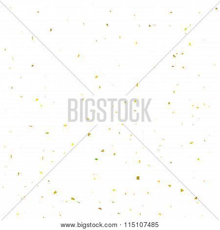 Yellow Confetti Background