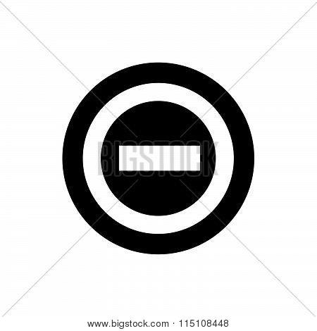 Beware Icon And Button
