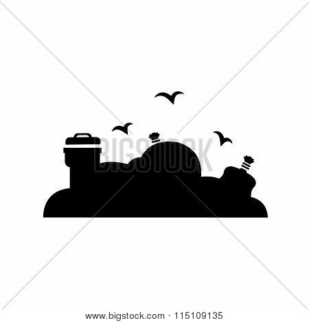 Garbage Disposal Icon