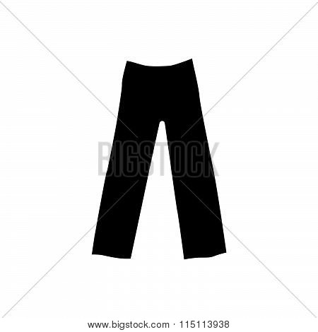Trousers For Men Isolated