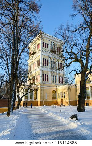 Tower Of The Palace Of Rumyantsev-paskevich, Gomel, Belarus