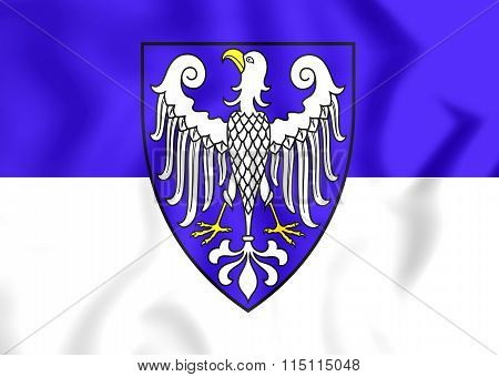 Flag Of Arnsberg City (north Rhine-westphalia), Germany.