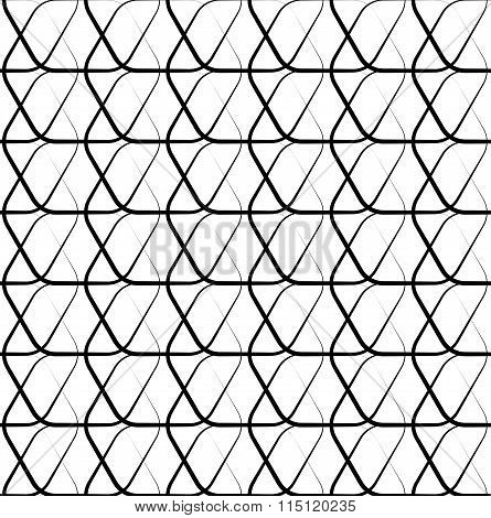 Meshy Grid With Intersecting Lines. Cellular Abstract Grid, Mesh Background. Abstract Lattice, Grati