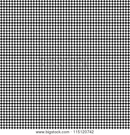 Pattern With Dots, Spots. Minimal Grayscale, Monochrome Halftone Like Background. Seamlessly Repeata