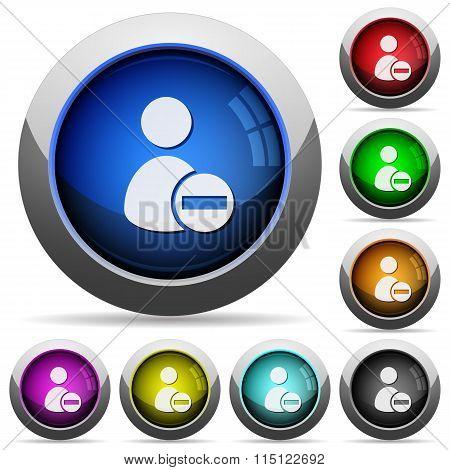 Remove User Profile Button Set