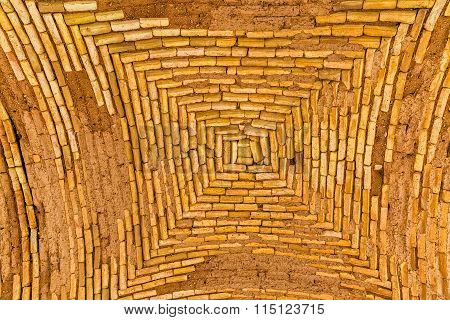 Tower of Silence building ceiling