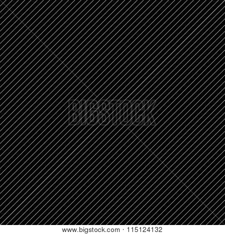 Diagonal, Slanting Lines. Black And White Repeatable Pattern.
