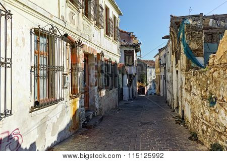 Street in old town of Xanthi, East Macedonia and Thrace