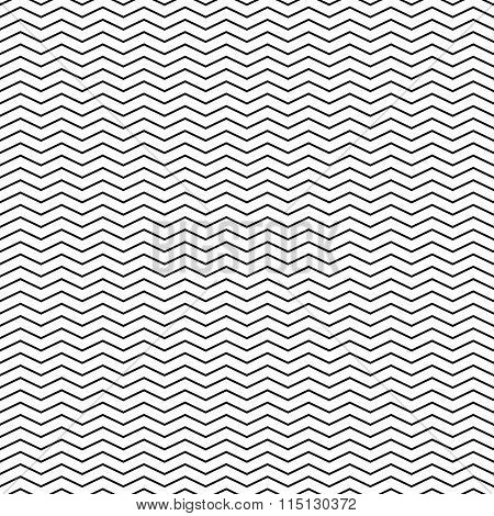 Zigzag Lines Seamless Vector Background / Pattern (repeatable.)