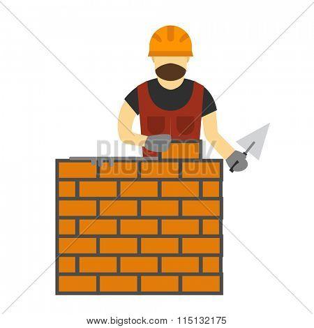 Illustration of under construction vector people. Construction, worker, tools, vector illustration. Under construction people illustration