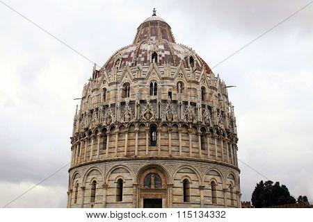 Pisa Baptistery, Italy