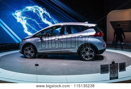 Best Of CES 2016  - Chevy Bolt EV