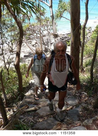 Seniors Hiking Noosa