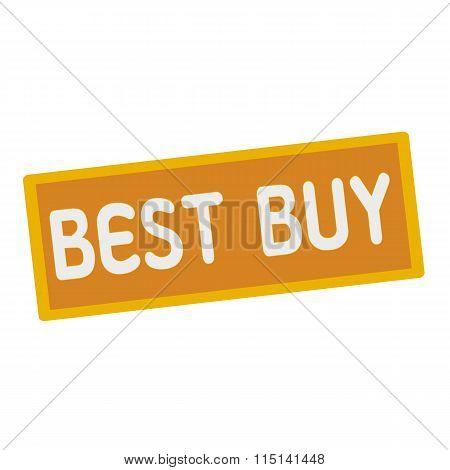 Best Buy Wording On Rectangular Signs