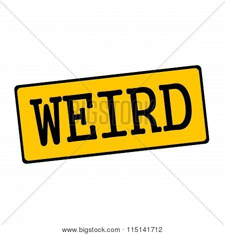 Weird Wording On Rectangular Signs