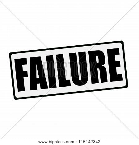 Failure Wording On Rectangular Signs