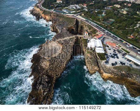 Boca do Inferno (Portuguese for Hell's Mouth), Cascais, Portugal