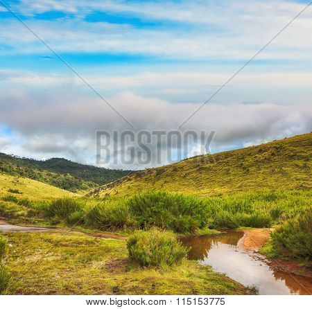 Beautiful view of The Horton Plains.
