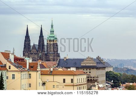 View Of St. Vitus Cathedral, Prague