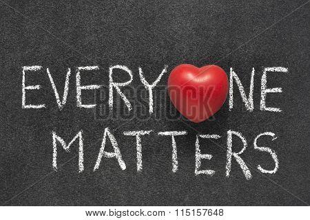 Everyone Matters Heart