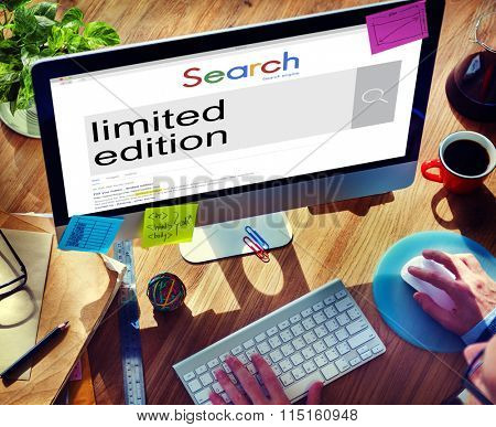 Businessman Connect Browsing Internet Search Concept