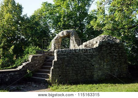 Ruins Of Tower